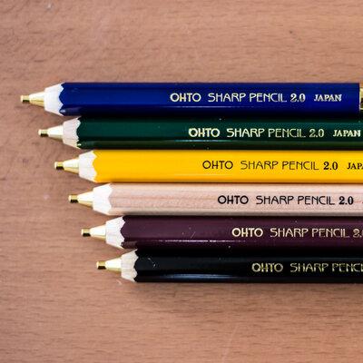 慣れ親しんだ鉛筆をアップデート!世界で愛用される「木軸シャープ消しゴム付2.0」_image