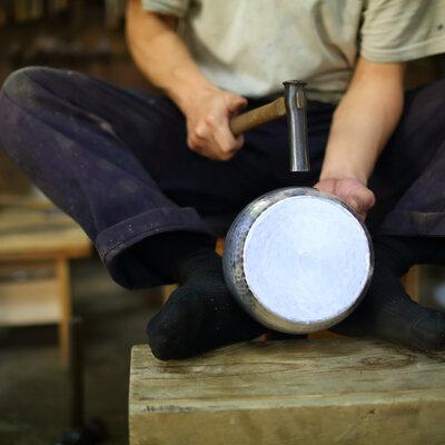 鍛金工房 WESTSIDE33の銅製段付き鍋。使い込みたくなる調理道具。_image