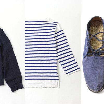 フランス発のヴィンテージ古着から定番のマリンルックを探る_image