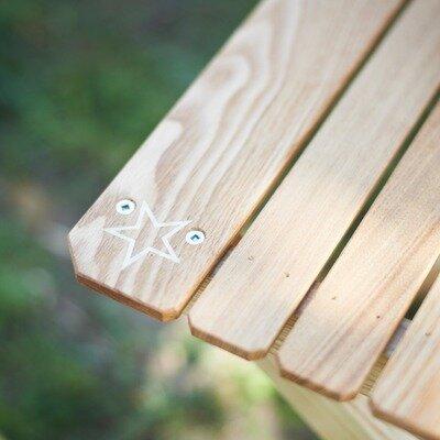 """ペレグリンファニチャー×バリスティクスの「ファイヤーフライテーブル」は唯一無二の""""光る""""折りたたみテーブル_image"""