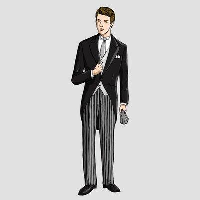 儀式の正礼装・モーニングの装いを理解する_image