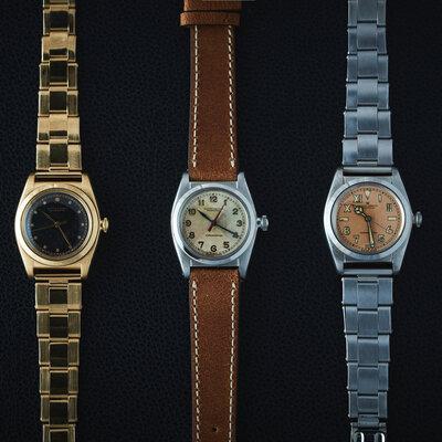 アンティーク時計の名店をめぐる