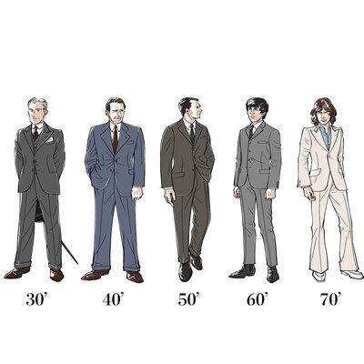 スーツ・ジャケットの歴史をたどる_image