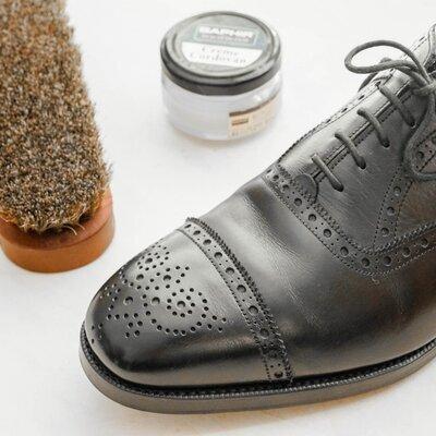 革靴のこだわりメンテナンス_image