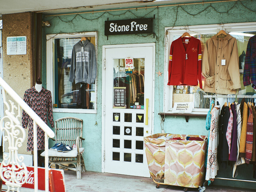 目指すは洋服が循環する社会。茅ヶ崎の古着屋「STONE FREE」を営むサーファー夫婦が伝えたいメッセージ_image