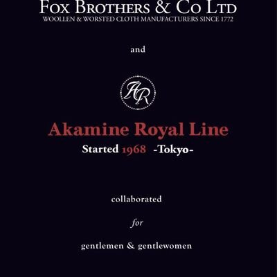 Akamine Royal LineとFox Brothersのコラボレーションが実現_image