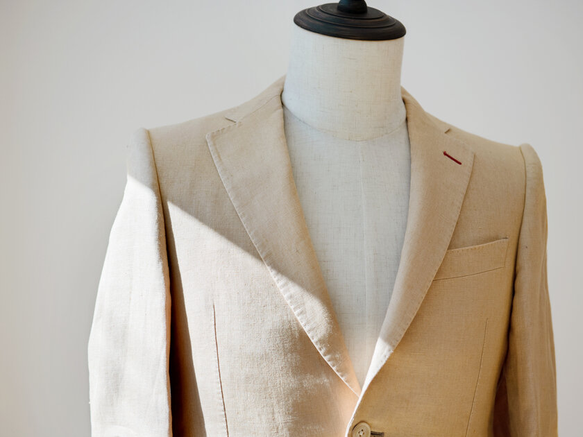 春夏ジャケットの選択肢に「アイリッシュリネン」という贅沢を。特徴と種類、お手入れ方法を解説!_image