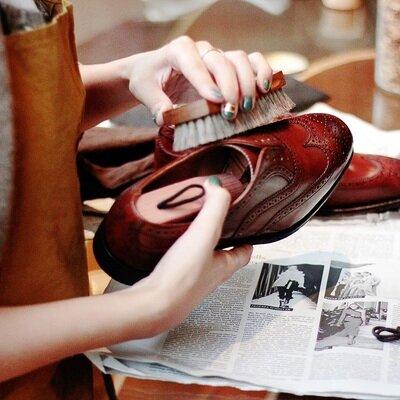 女性でも気軽にできる英国紳士の嗜み。プロに教わる靴磨きワークショップを眼に映る全てがフォトジェニックな「FUDGE Holiday Circus」にて開催。_image