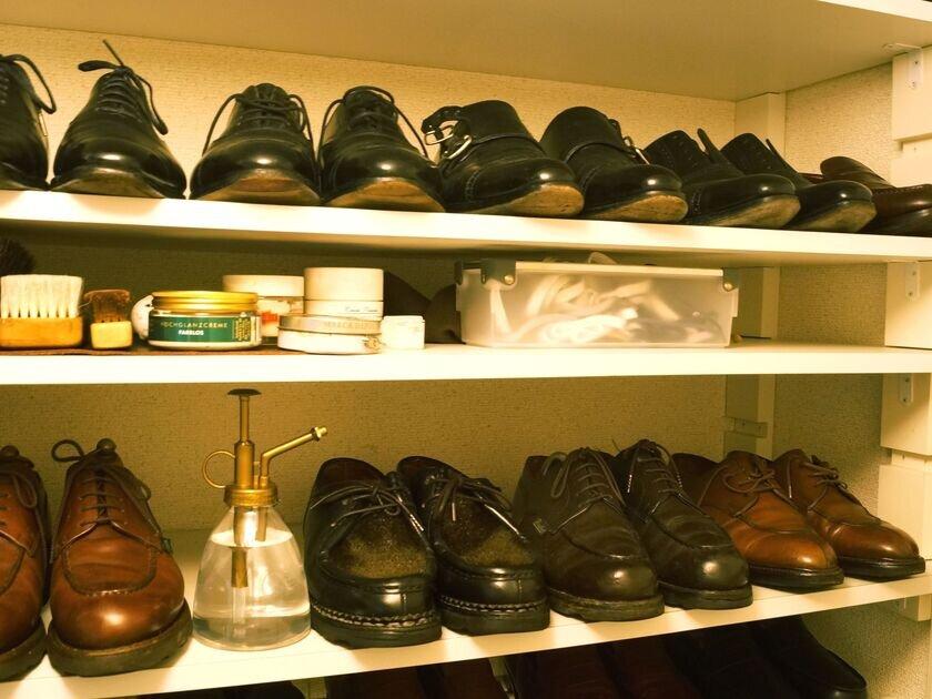 靴磨き職人「シューシャイナーKENさん」が語る、自宅のシューズボックスを眺める楽しさ。_image