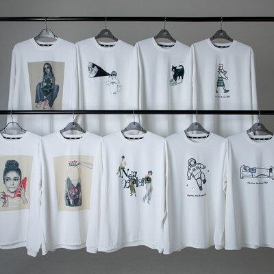 ニューバランス限定Tシャツコレクション「9 BOX」。第3弾はブランドを代表する「997」がモチーフのロングTシャツ_image