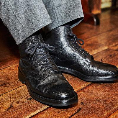 靴磨きチャンピオンが惚れ込んだ ドレス靴ではない一足。「Brift H」代表 長谷川 裕也_image