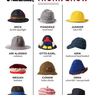 ウィーンの老舗帽子ブランド「ミュールバウアー」のトランクショー!in GLOBE SPECS_image