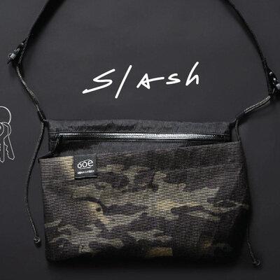 注目の新素材「X-PAC」使用のアウトドア専用サコッシュ。 台湾発のOoe(オーエ)「Slash Bag(スラッシュバッグ)」_image