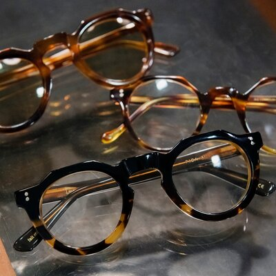 メガネにこだわる