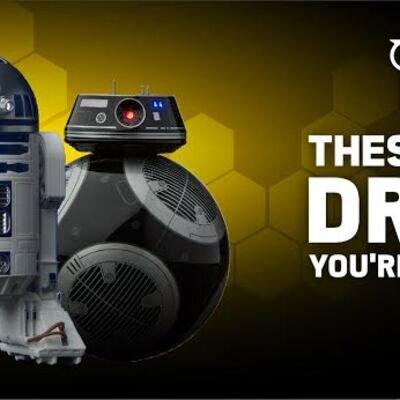 映画「スター・ウォーズ™ エピソード8/最後のジェダイ」の人気キャラクターが動く!ドロイド3アイテムを販売_image