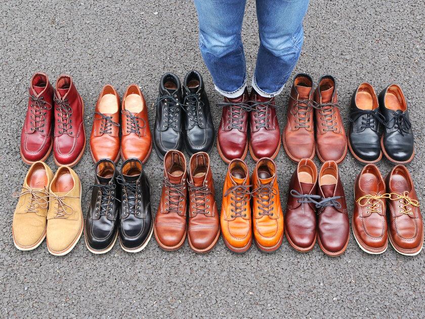 """自分だけの相棒とどこへでも。一生使える""""実用靴""""RED WING(レッドウィング)の魅力とは。_image"""