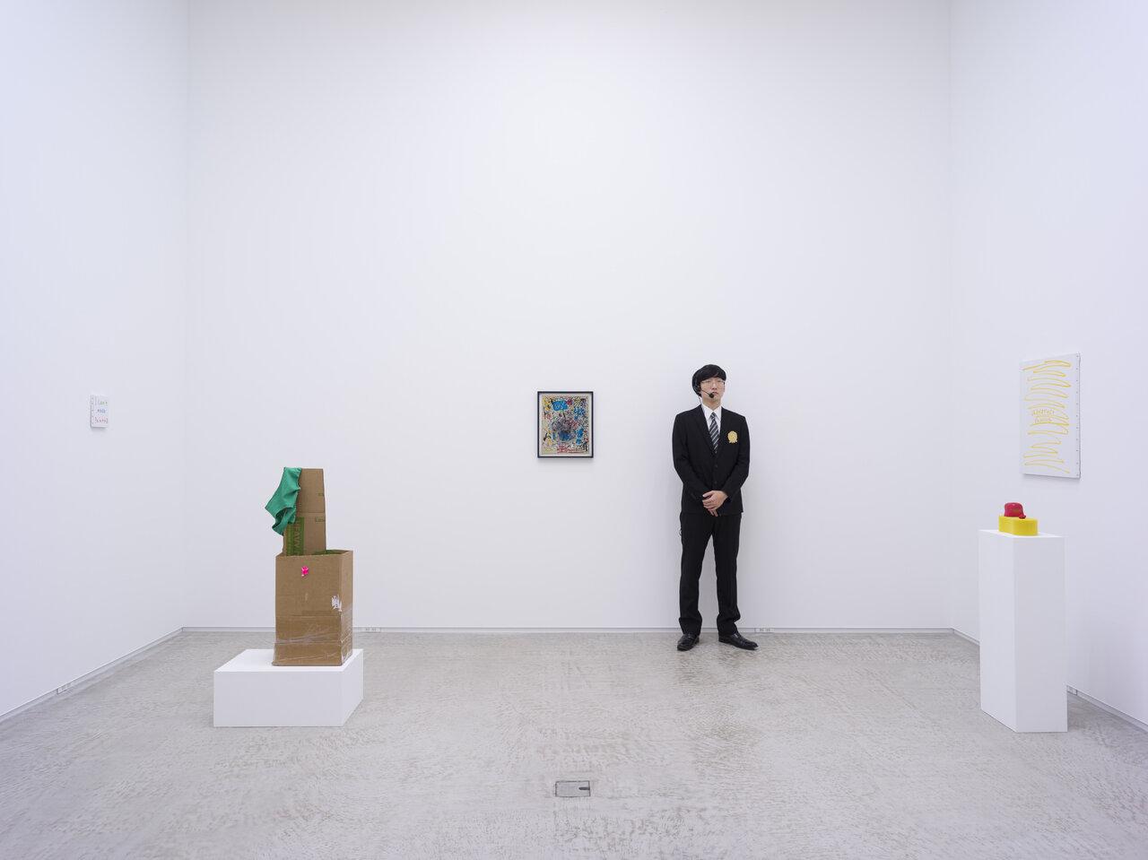 """加賀美健「アブストラクション」 2020年 MISAKO & ROSENでの展示風景 Ken Kagami """"Abstraction"""" 2020 installation view at MISAKO & ROSEN Courtesy of the artist and MISAKO & ROSEN Photo: KEI OKANO"""