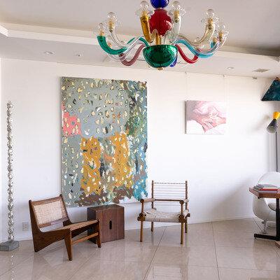 アート大好き!現代美術!コレクターのお宅訪問! 棟田響×ローゼン美沙子 |  CADAN Art Channel Report_image