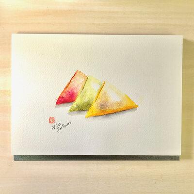 ご当地インク×万年筆イラストで全国旅気分。万年筆画家・サトウヒロシが描く「京都府」編_image