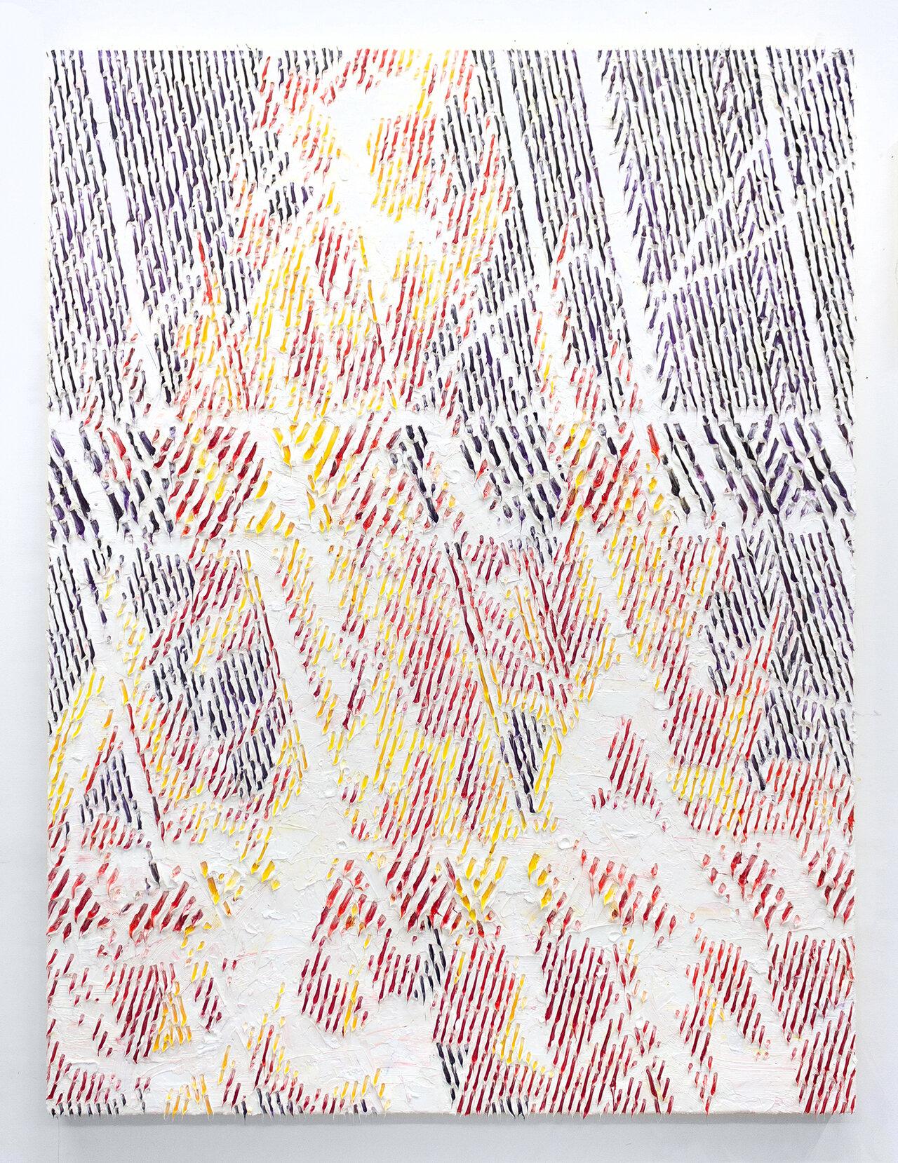 Light #19 2021, 162 x 130.3 cm, Oil on canvas ©Shinya Imanishi Courtesy of nca | nichido contemporary art