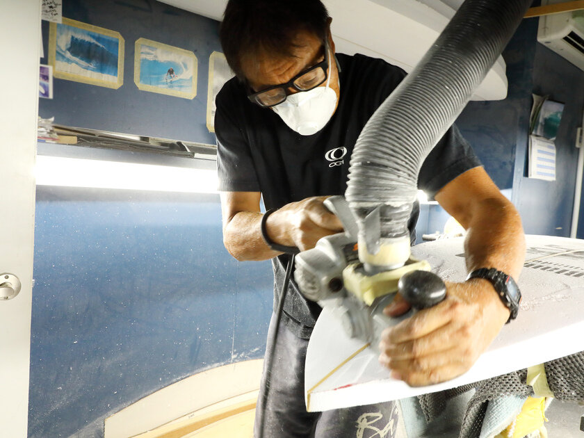 熟練シェイパー・小川昌男さんによるサーフボードに込められた40年の技と想い ーサーフボード【orca】制作レポートNO.1ー_image